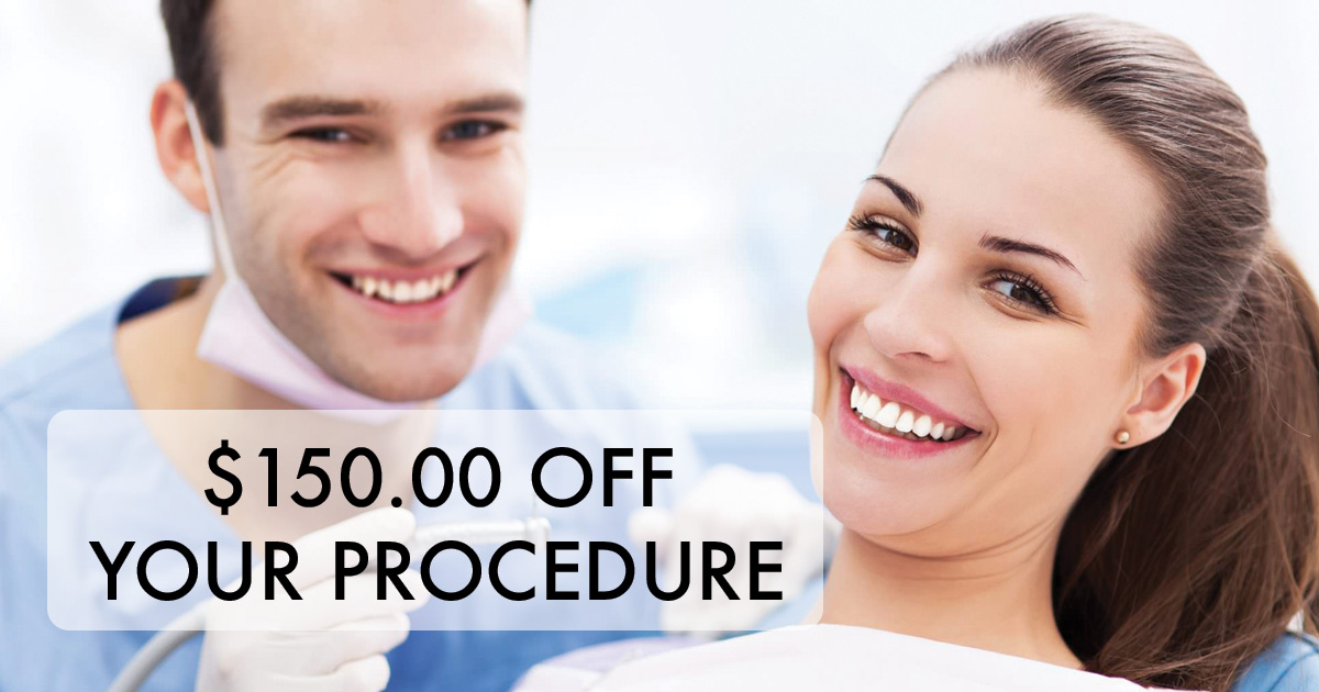 150 off dental work Westwood Dental